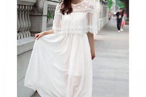 Top 5 Simple Ankle-length White Chiffon Bridesmaid Dresses Only Need £49.99 In UK