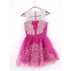 Sexy Short Lace Zipper Black Party Dress