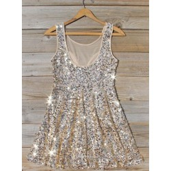 Sexy Mini Short Bling Bling Sequins Party Dress