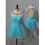 ShortMini Princess PartyBridesmaid Dress With Beading New Arrival