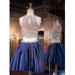 Short Puffy Mini Party/Bridesmaid Dress With Beading New Arrival
