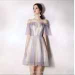 Chic Dress Cocktail Dress Inside and Outside Two Floors Short Tulle New Arrival