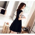 Chic Dresses Cocktail/Party Dress Black V-neck Short/Mini Chiffon New Arrival