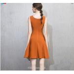 Cocktail/Party Dress Petite A-line Jewel-neck Zipper Back Short/Mini Chiffon New Arrival