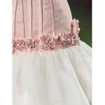 Fit & Flare Plus Sizes Wedding Dress Sweep/Brush Train Strapless Lace/Organza Wedding Dresses