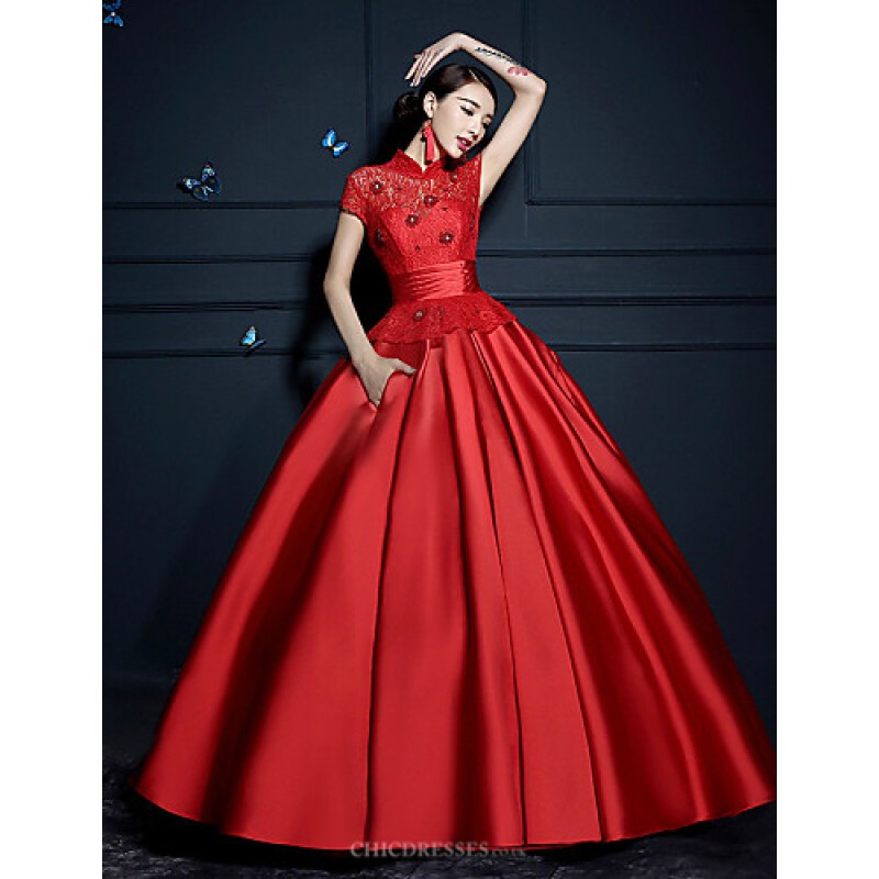 ball gown wedding dress rubychampagne floorlength high