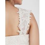 Ball Gown Square Chapel Train Organza Plus Size Wedding Dress Wedding Dresses