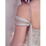 A-line Wedding Dress - Ivory Court Train Off-the-shoulder Chiffon Wedding Dresses