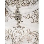 A-line Plus Sizes Wedding Dress - Ivory Court Train Sweetheart Chiffon Wedding Dresses
