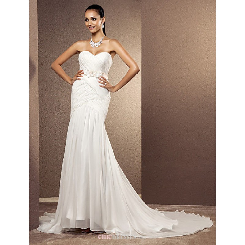 Trumpet mermaid plus sizes wedding dress ivory court for Plus size wedding dresses uk