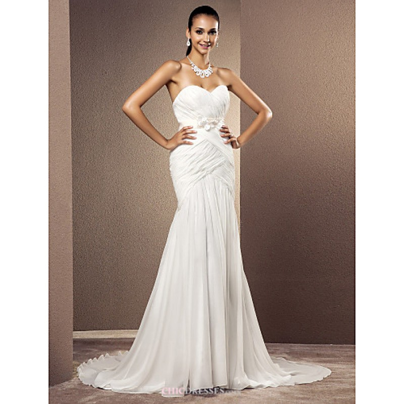 Trumpet mermaid plus sizes wedding dress ivory court for Ivory trumpet wedding dress