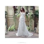 Wedding Dress - White Court Train Off-the-shoulder Wedding Dresses