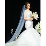 Trumpet/Mermaid Wedding Dress - Ivory Cathedral Train Sweetheart Organza Wedding Dresses