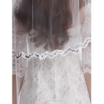 Sheath/Column Wedding Dress - Ivory Short/Mini Bateau Lace / Tulle Wedding Dresses