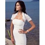 Trumpet/Mermaid Plus Sizes Wedding Dress - Ivory Sweep/Brush Train Strapless Chiffon Wedding Dresses