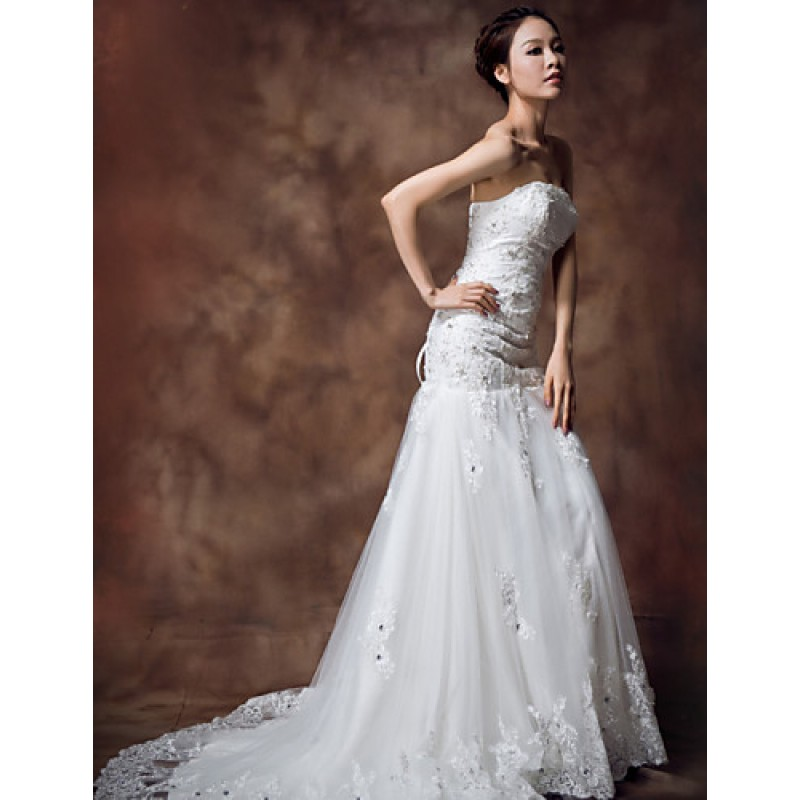 Ball Gown Wedding Dresses Uk: Ball Gown Floor-length Wedding Dress