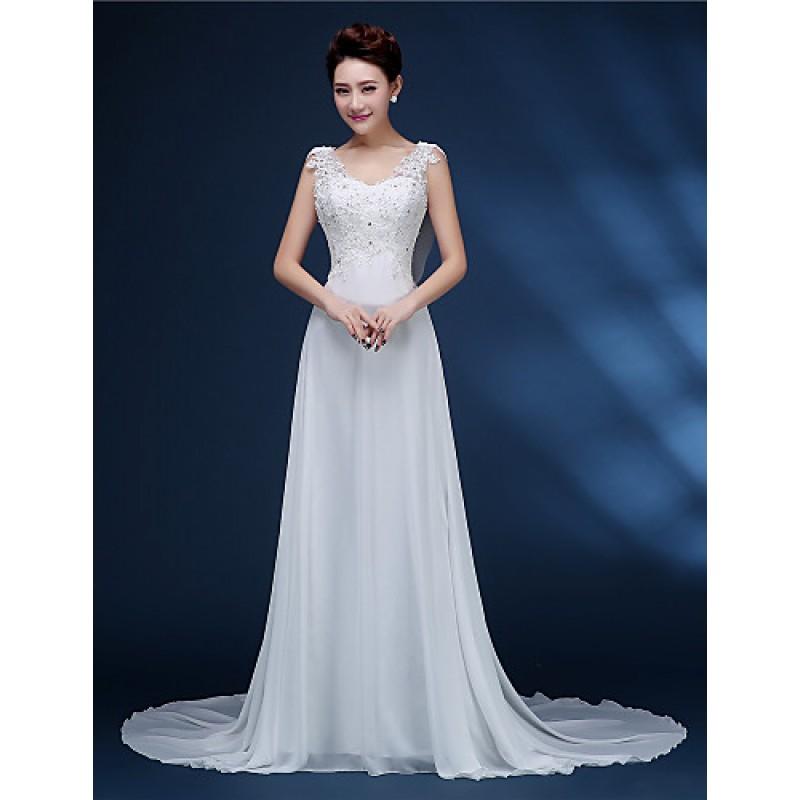 A-line Bride Wedding Dress