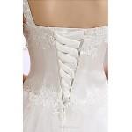 Ball Gown Wedding Dress Floor-length One Shoulder Lace Wedding Dresses