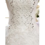Ball Gown Wedding Dress Floor-length Off-the-shoulder Lace Wedding Dresses