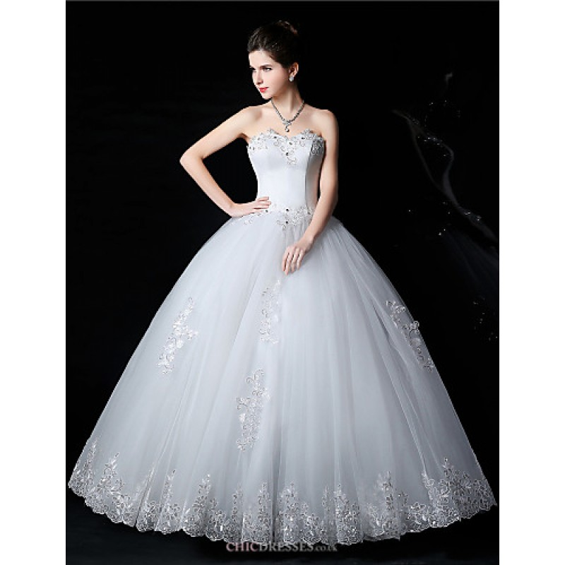 Ball Gown Wedding Dresses Uk: Ball Gown Bride Wedding Dress