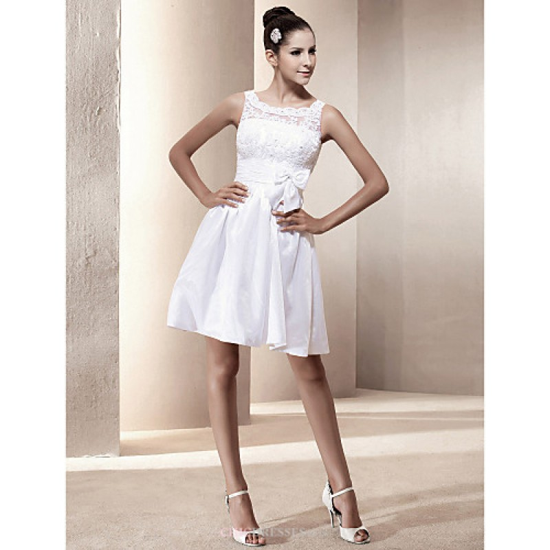 A line princess plus sizes wedding dress ivory short for Short wedding dresses uk