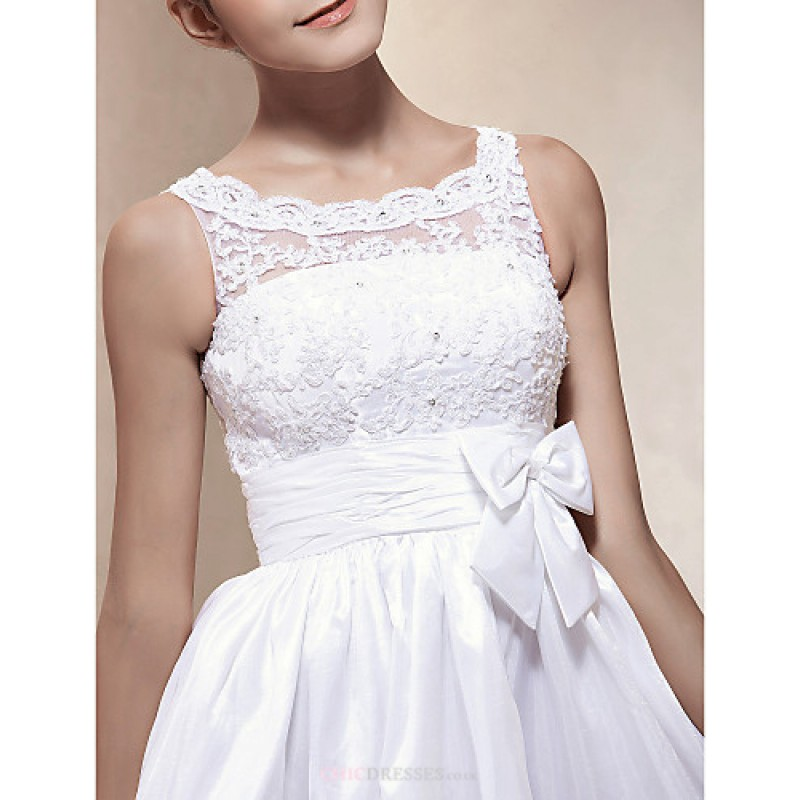 A line princess plus sizes wedding dress ivory short for Princess plus size wedding dresses