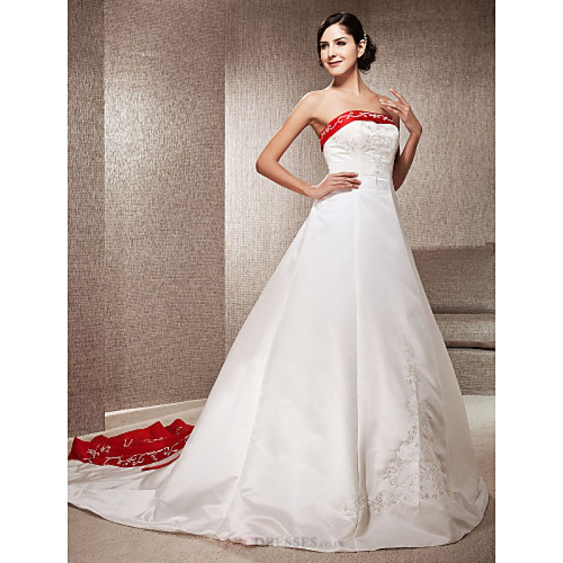 Cheap Wedding Dresses Colorado Springs: A-line / Princess Petite / Plus Sizes Wedding Dress