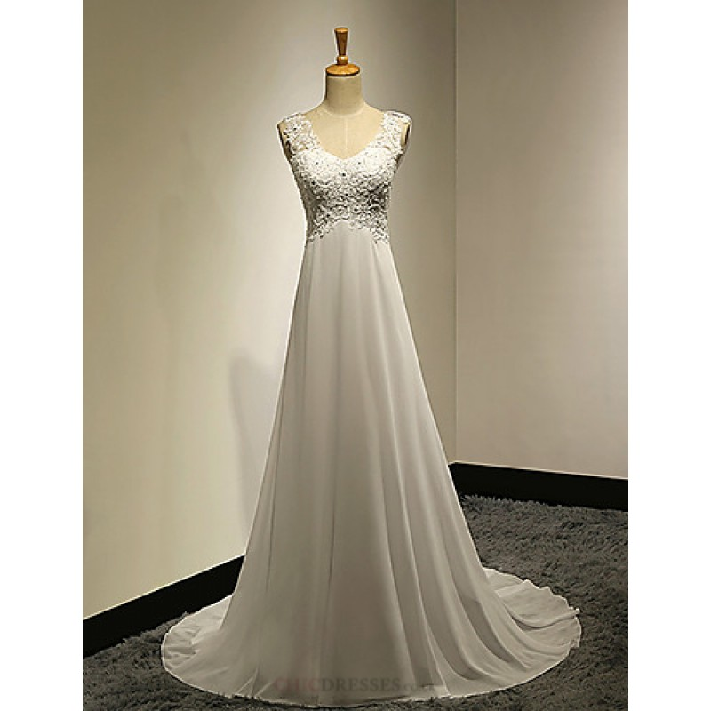 A line petite plus sizes wedding dress white sweep for Wedding dresses petite sizes