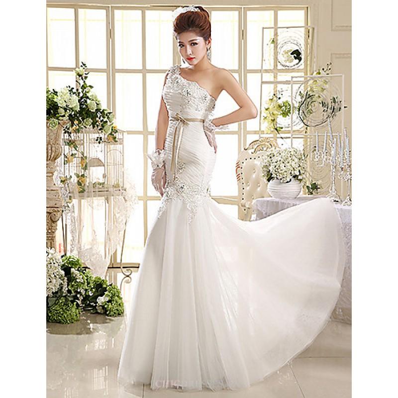 Ball Gown/Trumpet/Mermaid Wedding Dress Floor-length One