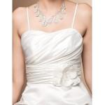 Ball Gown Sweetheart Satin Short/Mini Wedding Dress Wedding Dresses