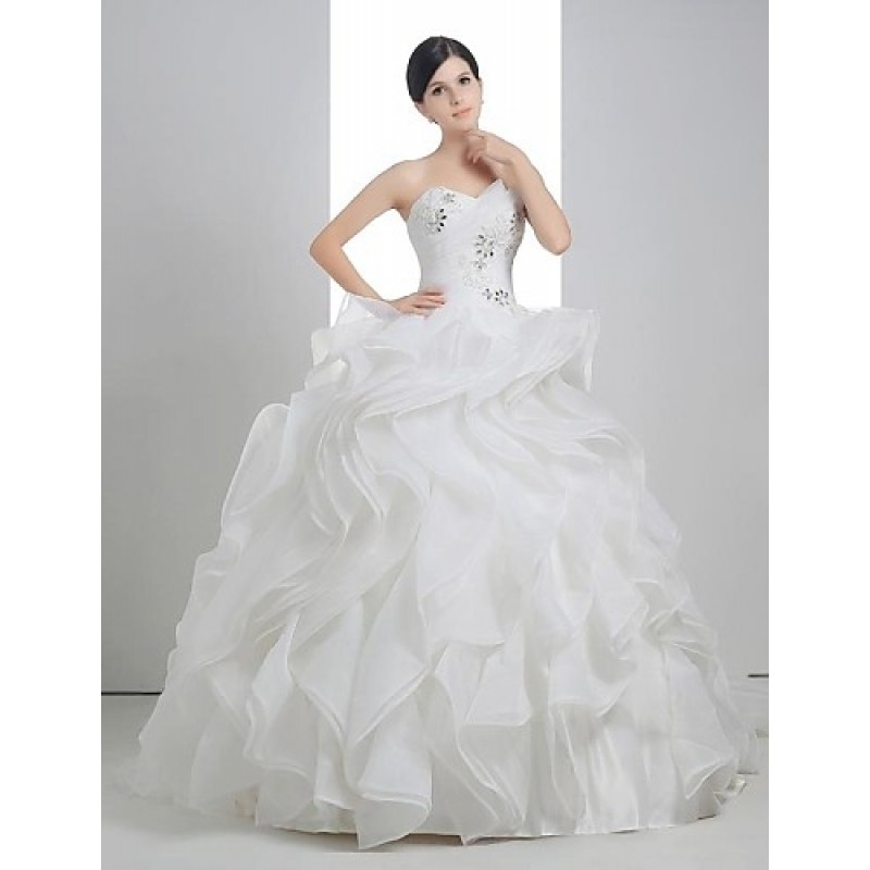 White Court Train Strapless