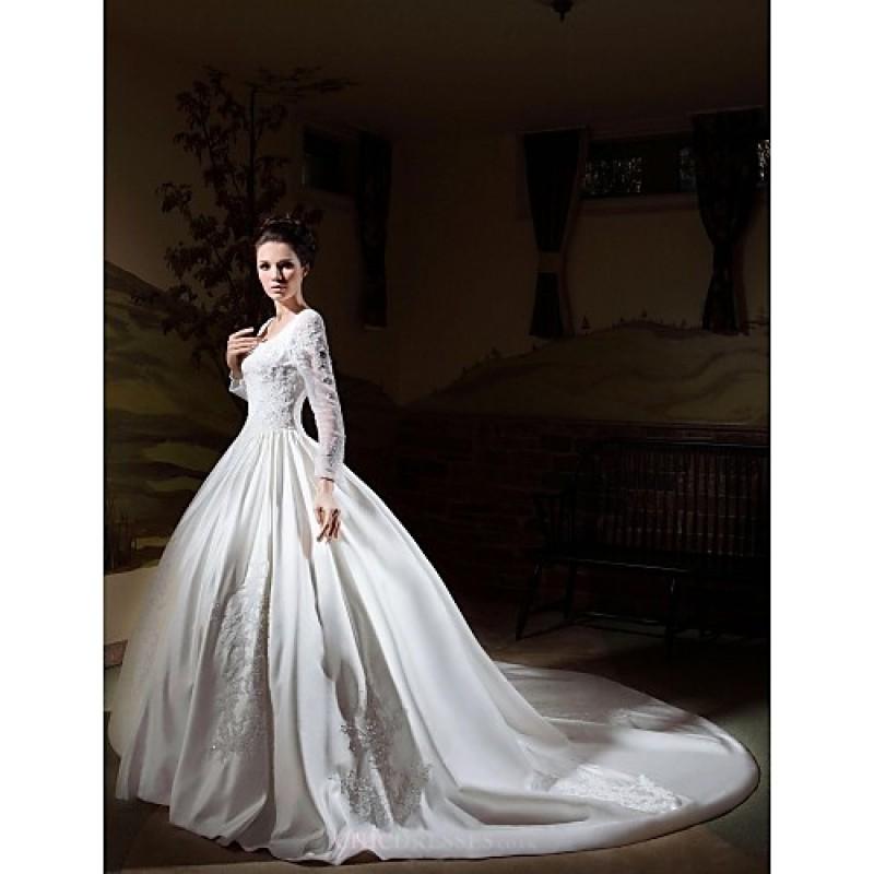 Ivory Plus Size Wedding Dresses