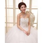 Ball Gown Wedding Dress Floor-length Sweetheart Lace Wedding Dresses