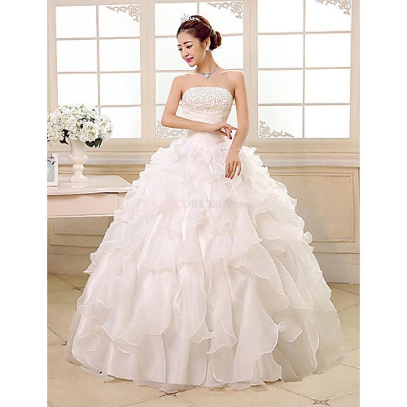 Princess/Ball Gown Wedding Dress