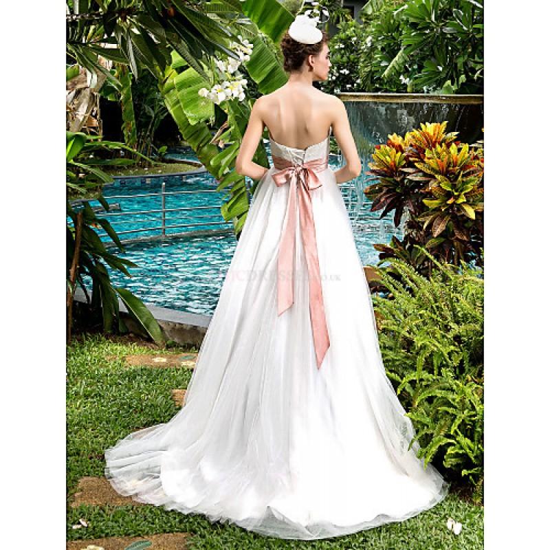 Cheap Maternity Wedding Dresses Under 100: A-line Maternity Wedding Dress