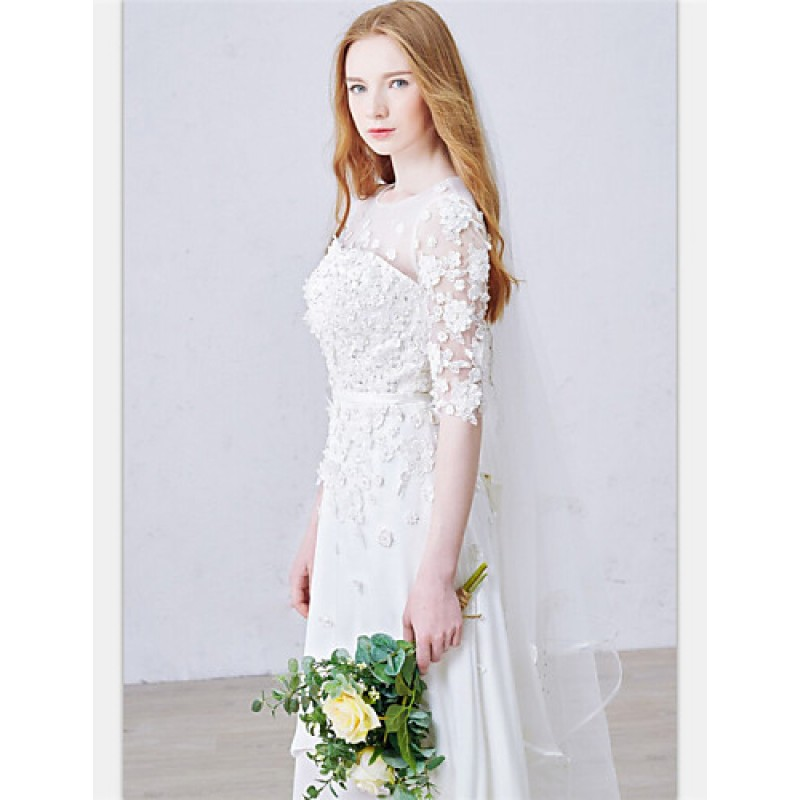 Wedding Gowns Online Uk: A-line Ankle-length Wedding Dress