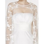 - Trumpet/Mermaid Wedding Dress - Ivory Watteau Train Strapless Lace / Charmeuse Wedding Dresses