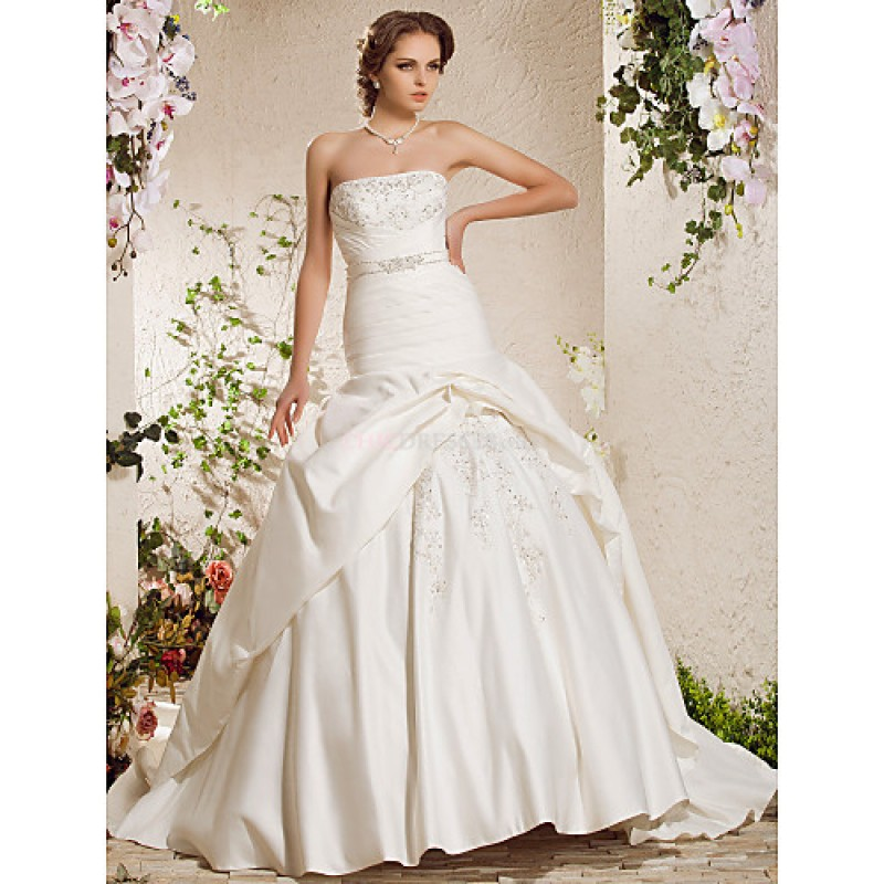 Plus Size Wedding Gowns Uk: Ball Gown Plus Sizes Wedding Dress