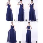 Mix & Match Dresses Floor-length Chiffon 9 Styles Bridesmaid Dresses (3228009) Bridesmaid Dresses