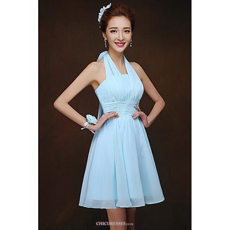 Short/Mini Bridesmaid Dress