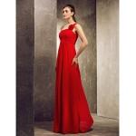 A-line Strapless hem-length Satin Bridesmaid Dress Bridesmaid Dresses