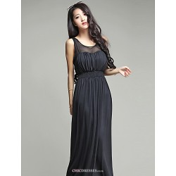 Ankle Length Silk Bridesmaid Dress Burgundy Dark Green Champagne Black Ball Gown Sweetheart