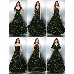 Mix&Match Convertible Dress Floor-length Knit Sheath/Column Evening Dress (2034742)