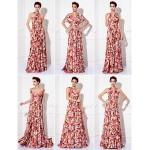 TS Couture Mix&Match Convertible Dress Floor-length Knit Sheath/Column Evening Dress (1912694) Bridesmaid Dresses