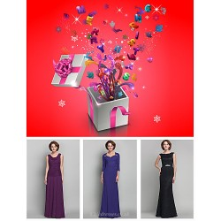 Free Shipping Lucky Bag Contains Three Mothers Dresses