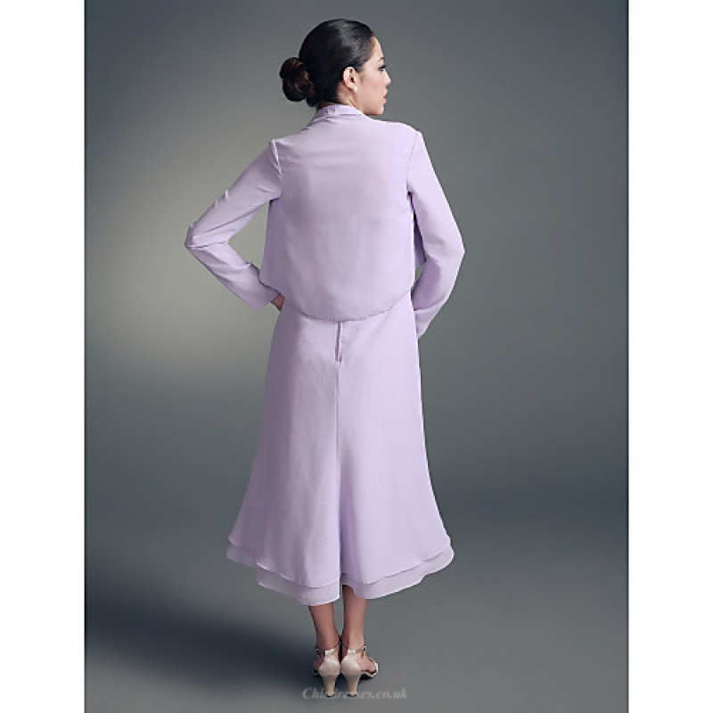 A Line Plus Sizes Petite Mother Of The Bride Dress