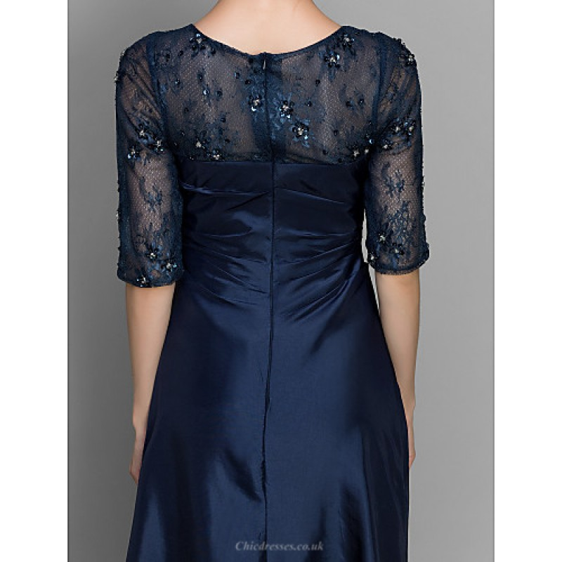 aline sheathcolumn mother of the bride dress dark