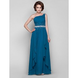 A Line Plus Sizes Petite Mother Of The Bride Dress Ink Blue Floor Length Sleeveless Chiffon