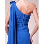 A-line Plus Sizes / Petite Mother of the Bride Dress - Royal Blue Sweep/Brush Train / Watteau Train Sleeveless Chiffon Mother Of The Bride Dresses