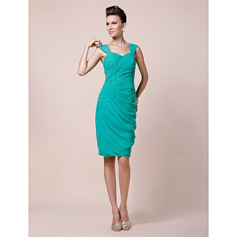 Cocktail Length Mother of the Bride Dresses Jade